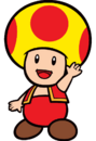 2D Fire Yellow Toad
