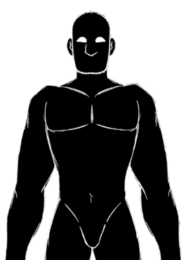Male Rovias Shiloutte