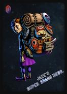 Mask Salesman - JSSB amiibo card