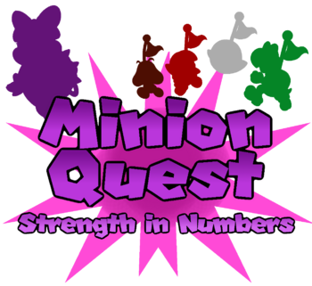 Minion Quest Strength in Numbers Logo