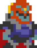 Mystery Mushroom Ganondorf