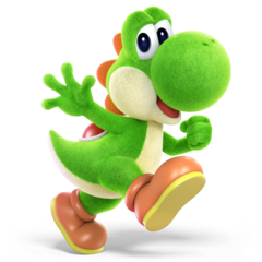 Yoshi SSBUltimate (Crafted World)