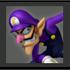 JSSB Character icon - Waluigi