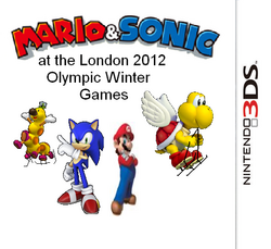 Mario and Sonic at the London Olympic Winter Games Box 2