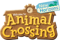 Animal Crossing New Horizons logo