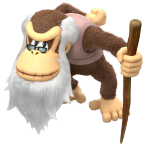 Cranky Kong New