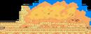 Dusty Dunes Desert