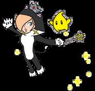2D Cat Rosalina
