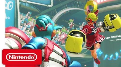 ARMS - Nintendo Switch Presentation 2017 Trailer