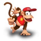 Diddy Kong Icon SSB5