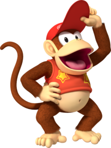 Diddy Kong Sunrise