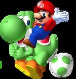 Mario on Yoshi SuperiorMW