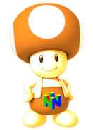 Nintendo 64 Toad