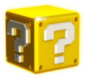 Shiny Question Block Artwork - Super Mario 3D World