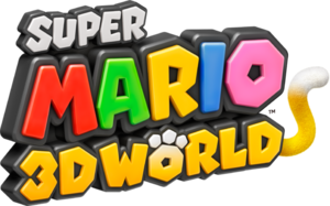 Super Mario 3D World logo