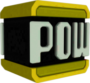 Golden POW Block Model - Smash Bros 4 Wii U