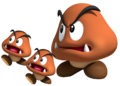 Grand Goomba and Goombas SM3DW