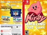 Kirby: Amazing Quiz Game