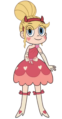 Star butterfly blood moon ball outfit by wholuvcartoons-dbkg3hm