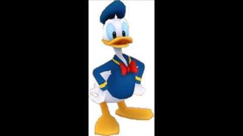 Disney Magical World - Donald Duck Voice