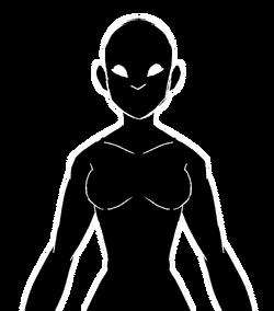 Female Rovias Shilouette
