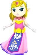 Smash 3C Toon Zelda by zarx1554 with credit to Pik