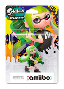 Amiibo - Splatoon - Inkling Girl Green - Box