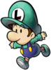 Baby Luigi Artwork (Mario & Luigi - Partners in Time)