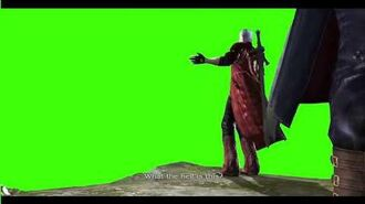 Greenscreen What the hell is this ? - Dante DMC4-0