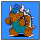 JSSB character preview icon - Blue Bowser