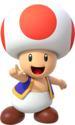 Toad SM64S