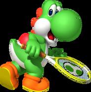 Yoshi - Mario Tennis Open