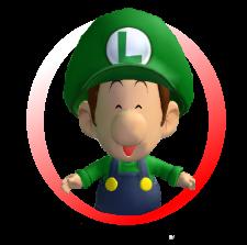 Baby Luigi Icon
