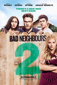 Bad Neighbours 2 UK Poster 2016