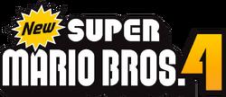 New Super Mario Bros. 4 Logo
