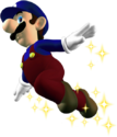 Super Jump Luigi SMW3D