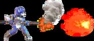 4.7.Krystal shooting a fire ball forward