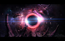 Black hole by m3 f-d55h1n0