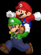 Mario and luigi superstar saga artwork render by nintega dario dbe82wl-pre