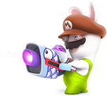 SB2 Rabbid Mario recolor 10