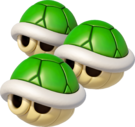 TripleGreenShellsMK8