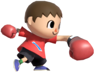 0.9.Red Villager Punching
