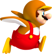 Fire Penguin Mario