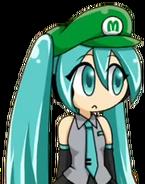 Luigi Hatsune Miku 5