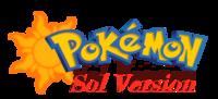Pokemon Sol Version Logo