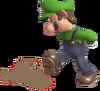 0.7.Luigi kicking dust