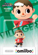 Amiibo - SSB - Villager - Box