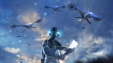 Darpa-gamers-for-combat-drone-swarmsjpg