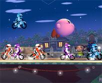 Kirby & bikes