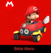 Baby Mario in Mario Kart Ultime